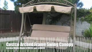 Costco Arched Frame Swing Replacement Canopy From Garden Winds