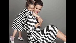Мама и дочка family look