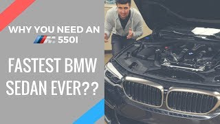 WHY YOU NEED A BMW M550i!! **Overview+ Twin Turbo V8 Exhaust Clip**