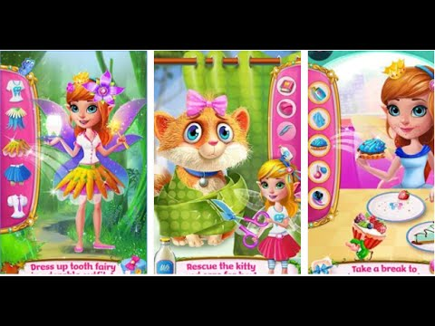 Tooth Fairy Princess Adventure Tabtale Android İos Free Game GAMEPLAY VİDEO