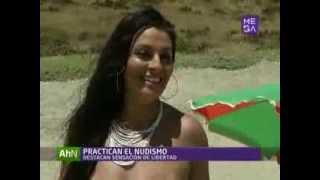 Repeat youtube video Aumentan visitas a playas nudistas en Chile