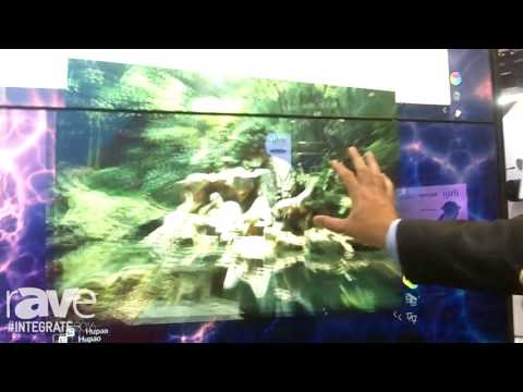 Integrate 2016: MultiTaction Demos MT Showcase Interactive Touch Software