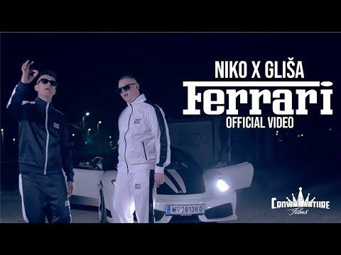 Niko Milošević X Gliša - Ferrari (Official Video)