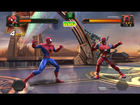 SPIDERMAN vs DEADPOOL and HULK and MORE Fighting Game - Best Kid Games - YouTube