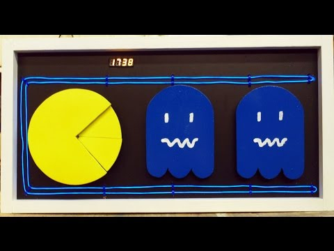 Making A Pac-Man Theme Clock