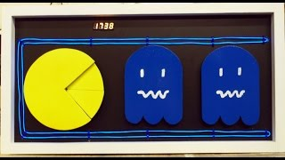 Making a Pac-Man theme clock