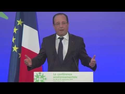 Discours d'ouverture du président de la République