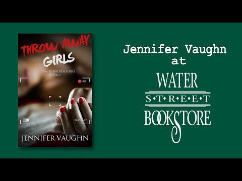 Jennifer Vaughn at Water Street Bookstore