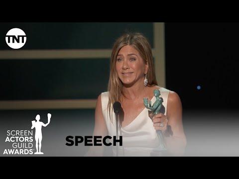 Jennifer Aniston: Award Acceptance Speech | 26th Annual SAG Awards | TNT