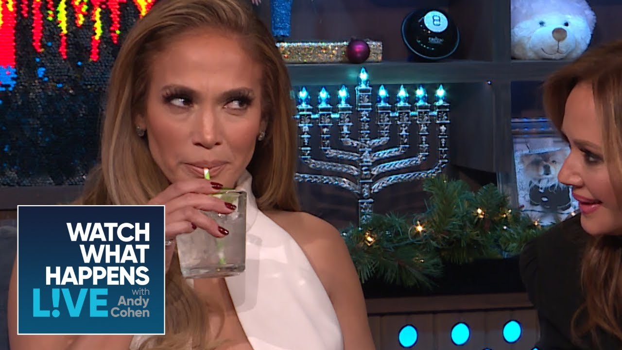 Never Have I Ever With Jennifer Lopez And Leah Remini | WWHL