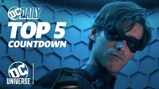 Titans Renewed for Season 3 + New Episode of Black Lightning! | TOP 5 HEADLINES