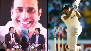 "VVS Laxman's ""281 & Beyond"" book launch with Sachin and Harsha Bhogle"