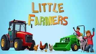Little Farmers | Tractors, Harvesters & Farm Animals Game App for Kids