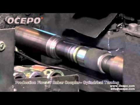 Cylindrical Turning, rebar coupler