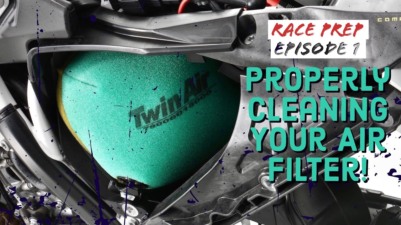 Race Prep Episode 1: How to Properly Clean Your Air Filter!