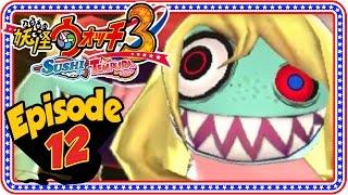 Yo-Kai Watch 3 Sushi and Tempura - Episode 12   Chapter 7 + Giveaway! [Nintendo 3DS Gameplay]