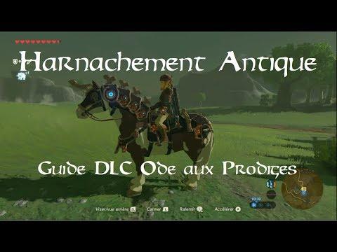 Zelda BotW [DLC2] - Guide Harnachement Antique (Archéonique)