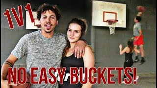 1 V 1 Against the Wifey On Low Rim! Winner Takes All!