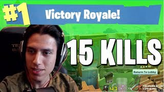 Grimmmz 15 KILL WIN in Fortnite (Fortnite Gameplay)