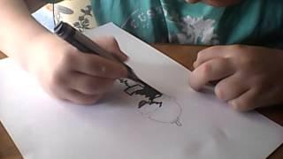 Как нарисовать графити балончик(Это моё 2 видео так что не судите строго., 2015-03-26T14:02:22.000Z)