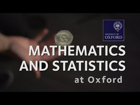 Mathematics and Statistics at Oxford University