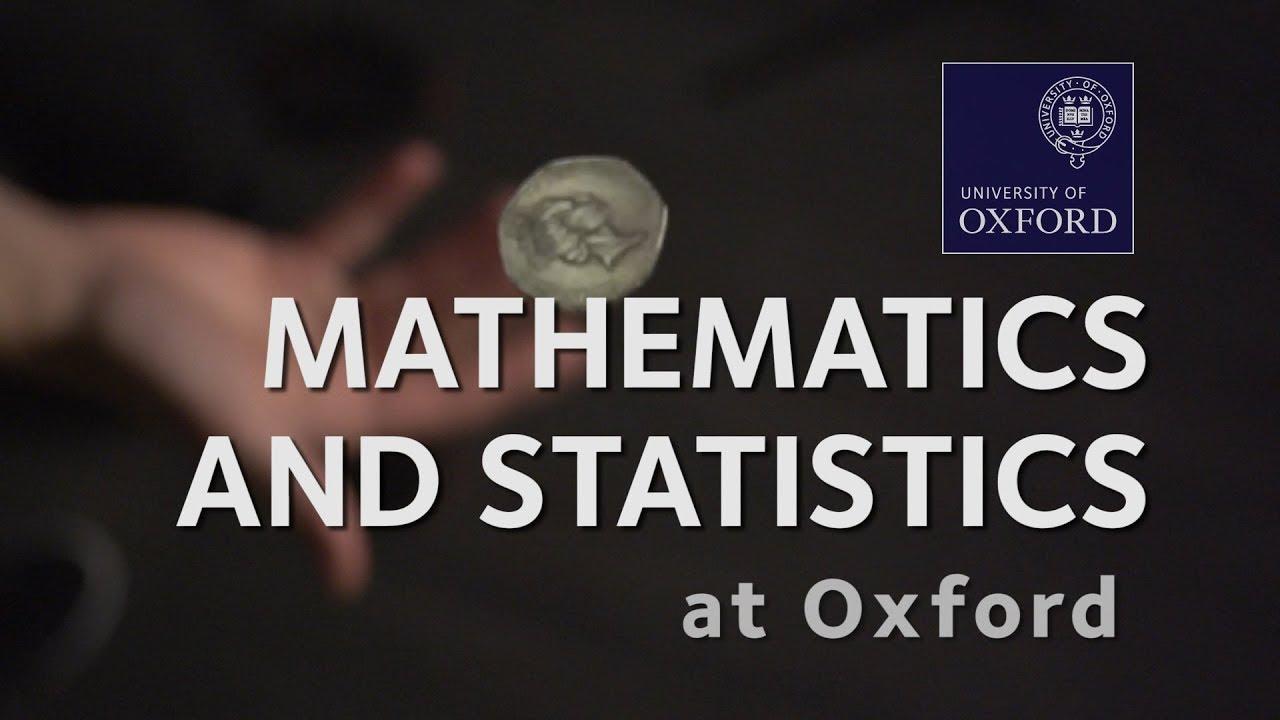 Mathematics and Statistics | University of Oxford