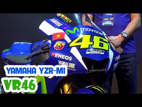 Yamaha YZR-M1 Review ▶ Soi chi tiết công nghệ trên Siêu Xe của Valentino Rossi VR46