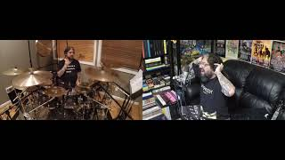 Mike Portnoy Drum & Vox Cam - Transatlantic's The World We Used To Know (Headphone Mix)
