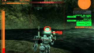 Armored Core Nine Breaker Gameplay HD 1080p PS2