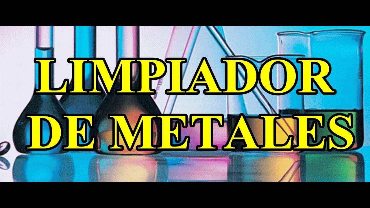 Formulas gratis limpiador de metales youtube - Limpiador de errores gratis ...