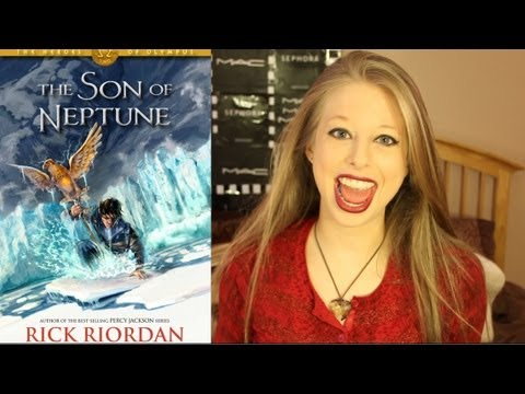 THE SON OF NEPTUNE BY RICK RIORDAN: booktalk with XTINEMAY