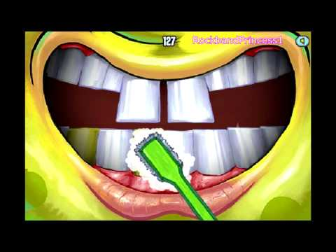 Dentist Games For Kids - Spongebob Cavity Crisis