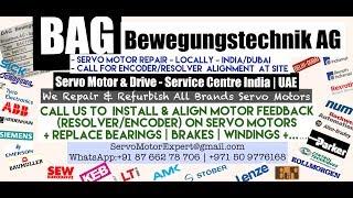 BAG Bewegungstechnik Dubai Servo Motor Encoder Resolver  Align Repair India UAE Oman Bahrain Saudi