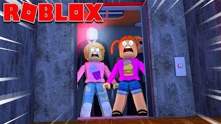 Roblox | Spooky Elevator With Molly And Daisy!