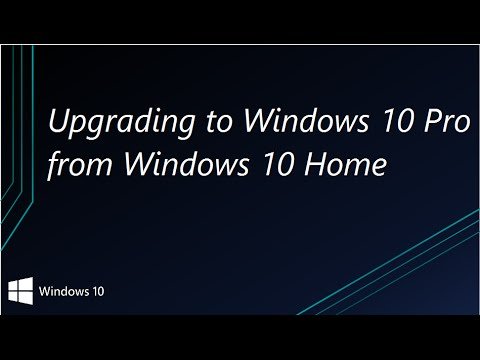 upgrade win 10 home to win 10 pro