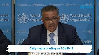 Live from WHO HQ - Daily Press Briefing on COVID-19 --Coronavirus 02MARCH2020