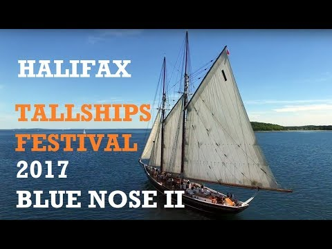 2017 Halifax Tall Ships Festival | Bluenose II | El Galeon | Spirit of South Carolina | Alexander II