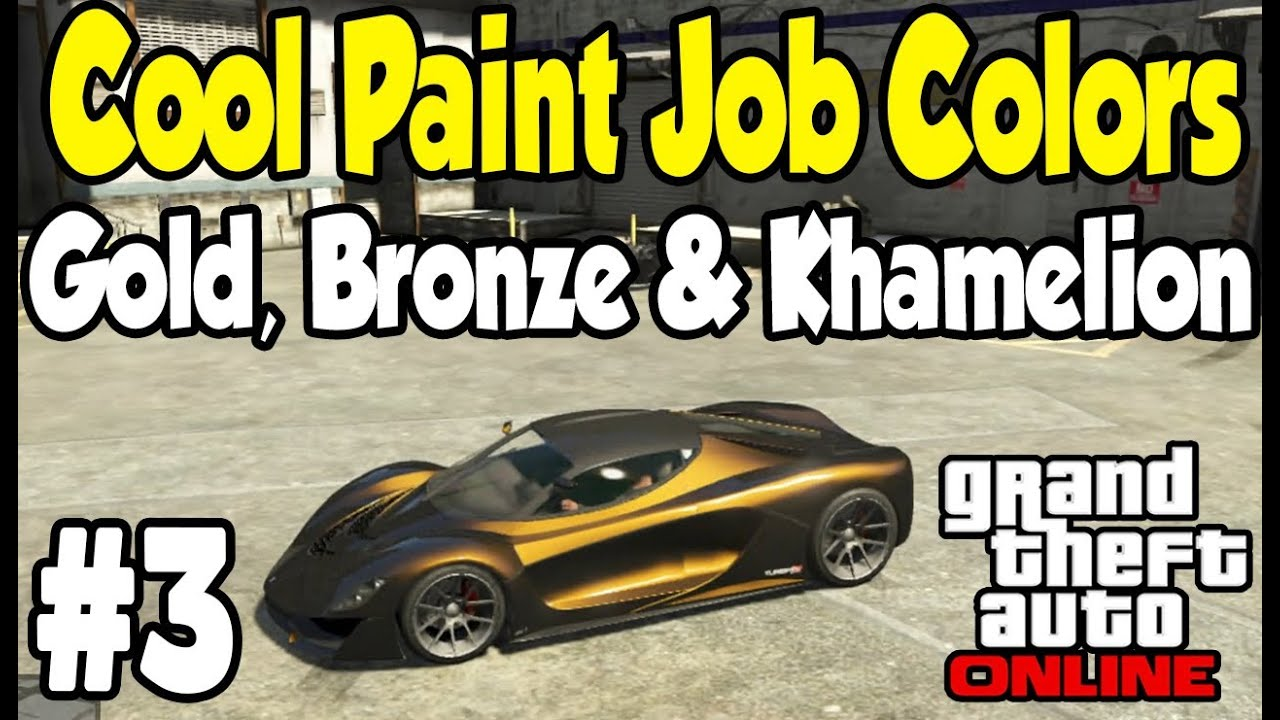 Gta  Bronze Paint Job
