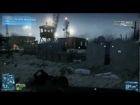 Battlefield 3 Tehran Highway Rush 64 Player PC HD 1080P