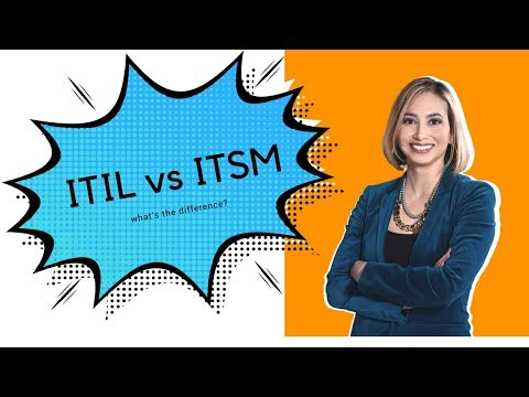 ITIL vs ITSM