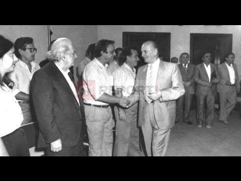 A1 Report - Ekskluzive/ Biseda mes Ramizit Kadaresë dhe Berishës në 1990 - Pjesa e 1