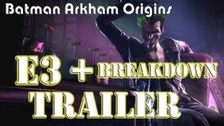Batman Arkham Origins E3 Gameplay Trailer and Breakdown