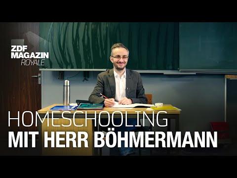 School @ Home – digitale Betreuungs- und Lerneinheit mit Herr Böhmermann | ZDF Magazin Royale