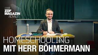 School @ Home – digitale Betreuungs- und Lerneinheit mit Herr Böhmermann