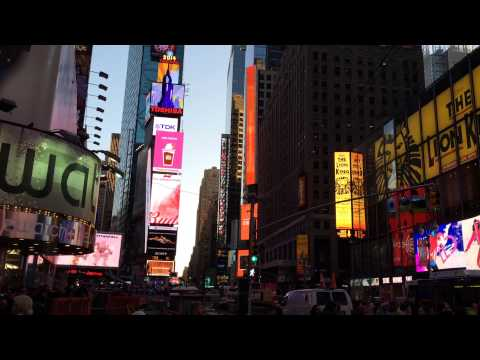 Time Square (NewYork) - world's biggest screen