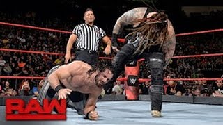Seth Rollins vs. Bray Wyatt- Raw, May 15, 2017