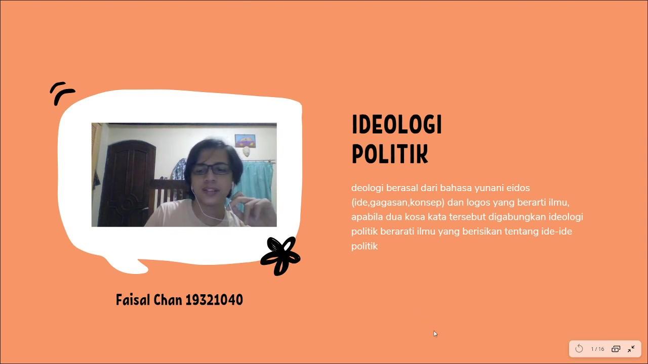 apa itu ideologi politik - YouTube