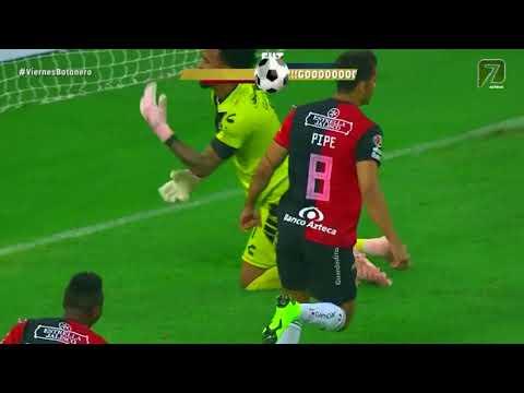 Gol de A. Andrade | Atlas 1 - 1 Veracruz | LIGA Bancomer MX - Apertura 2018 - Jornada 13