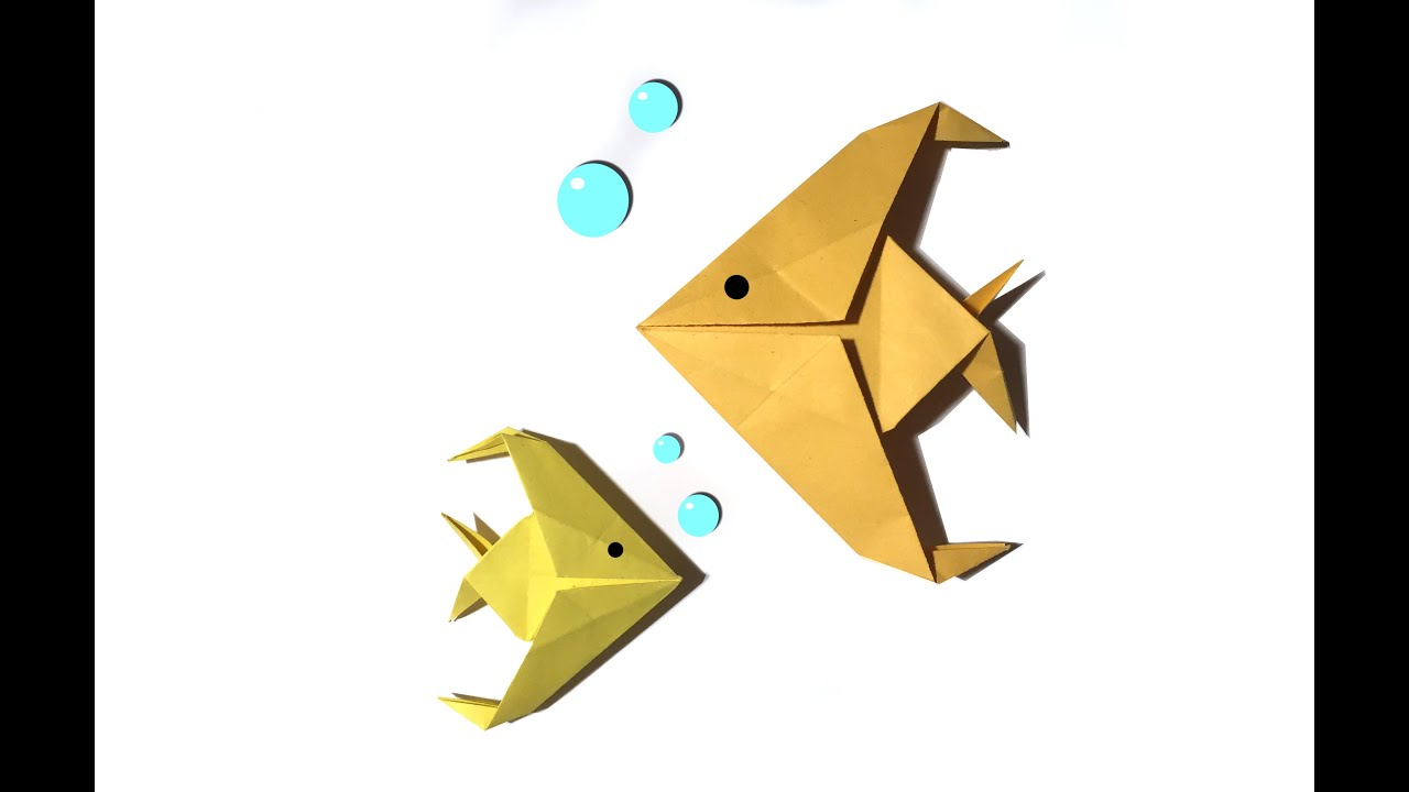Easy origami fish tutorial how to make an easy origami fish easy origami fish tutorial how to make an easy origami fish jeuxipadfo Choice Image