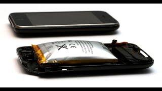 как сделать батарейку на телефон